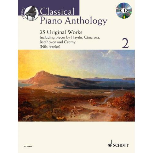 SCHOTT CLASSICAL PIANO ANTHOLOGY VOL.2 + CD