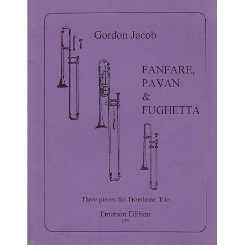 EMERSON JACOB GORDON - FANFARE, PAVAN & FUGHETTA