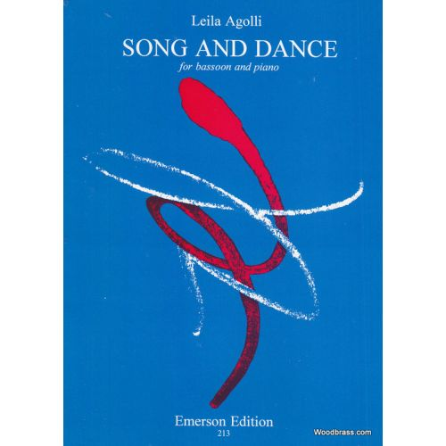 EMERSON AGOLLI LEILA - SONG AND DANCE - BASSON & PIANO