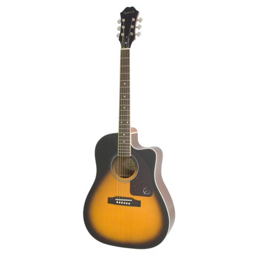 EPIPHONE AJ-220SCE SOLID TOP AC/ELECTRIC VINTAGE SUNBURST