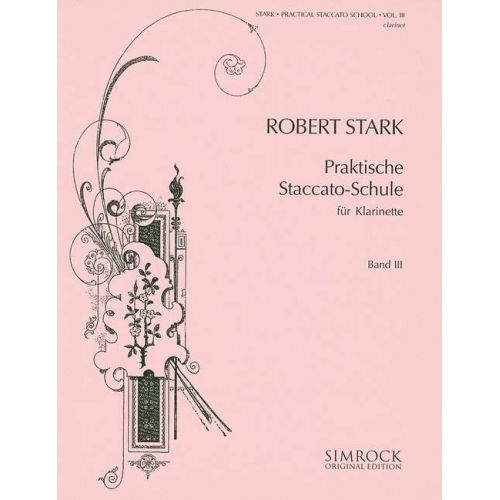 SIMROCK PRACTICAL STACCATO SCHOOL BAND 3 - CLARINET