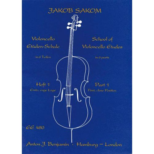 SIMROCK SCHOOL OF VIOLONCELLO ETUDES HEFT 1 - CELLO
