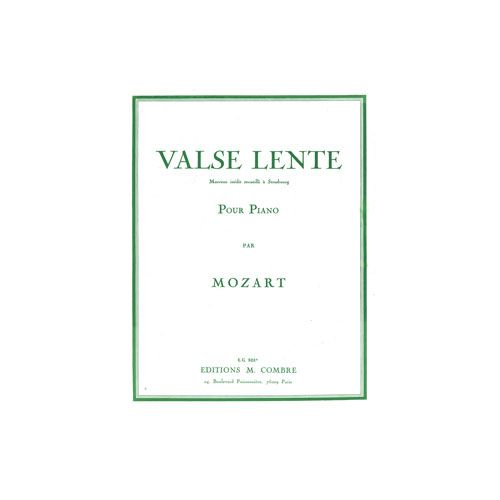 COMBRE MOZART WOLFGANG AMADEUS - VALSE LENTE - PIANO
