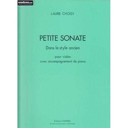 COMBRE CHOISY LAURE - PETITE SONATE DANS LE STYLE ANCIEN (VIOLON / PIANO)