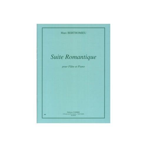 COMBRE BERTHOMIEU MARC - SUITE ROMANTIQUE - FLUTE ET PIANO (REDUCTION)