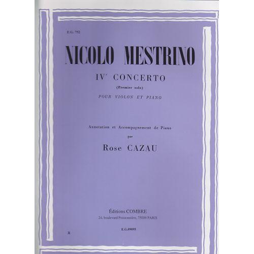 COMBRE MESTRINO - 1ER SOLO DU 4EME CONCERTO - VIOLON