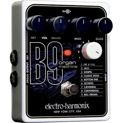 ELECTRO HARMONIX B9 ORGAN MACHINE - SIMULATION ORGUE