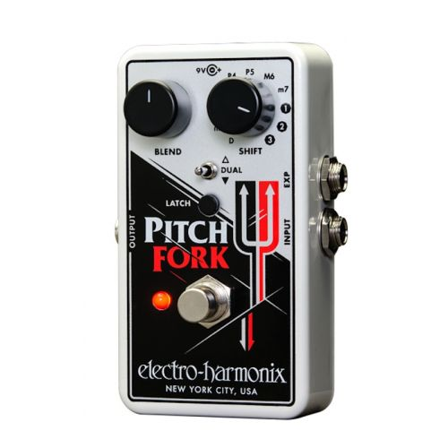 ELECTRO HARMONIX NANO PITCH FORK - POLYPHONIC PITCH SHIFTER
