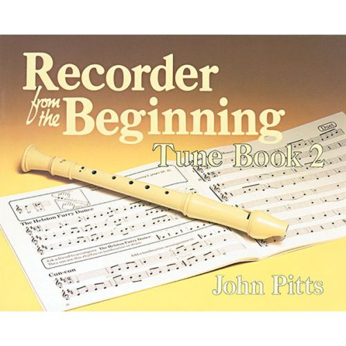 MUSIC SALES PITTS PROFESSOR JOHN - RECORDER FROM THE BEGINNING - TUNE BOOK 2 - DESCANT RECORDER
