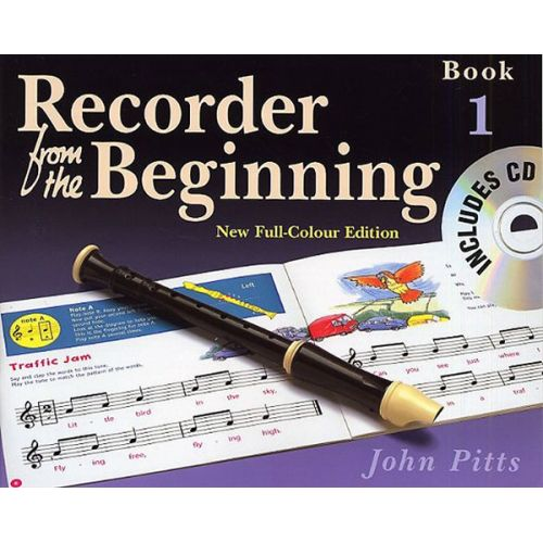 MUSIC SALES PITTS JOHN - RECORDER FROM THE BEGINNING - PUPIL'S BOOK BK. 1 - RECORDER