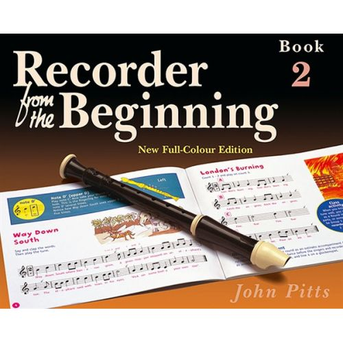MUSIC SALES PITTS JOHN - RECORDER FROM THE BEGINNING - PUPILS EDITION BK. 2 - RECORDER