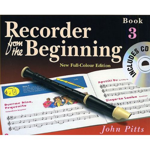 MUSIC SALES PITTS JOHN - RECORDER FROM THE BEGINNING - PUPILS BOOK BK. 3 - DESCANT RECORDER