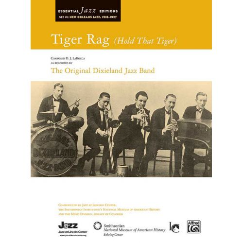 ALFRED PUBLISHING LAROCCA D.J - TIGER RAG - JAZZ BAND