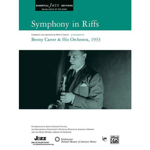 ALFRED PUBLISHING CARTER BENNY - SYMPHONY IN RIFFS - JAZZ BAND