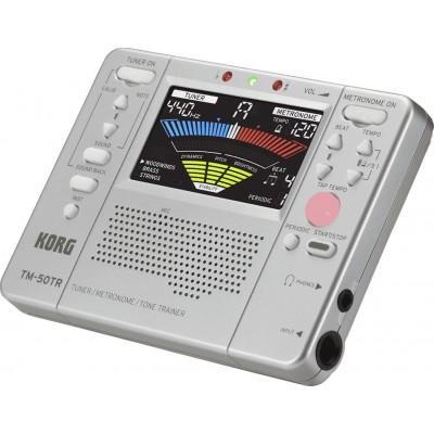 KORG TM-50TR SILVER ACCORDEUR VENTS