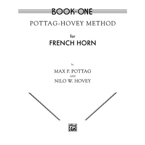 ALFRED PUBLISHING POTTAG HOVEY METHOD 1 - FRENCH HORN