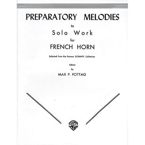 ALFRED PUBLISHING PREPARATORY MELODY TO SOLO - FRENCH HORN