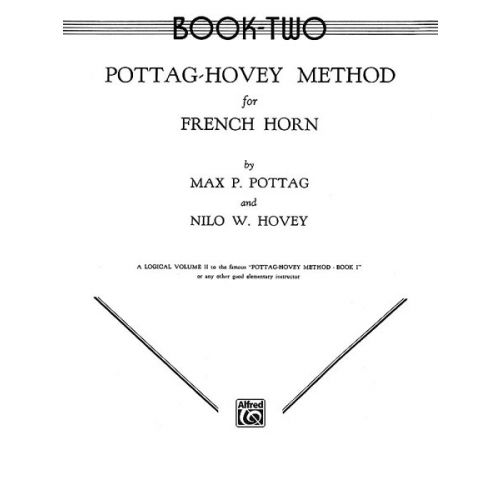 ALFRED PUBLISHING POTTAG HOVEY METHOD 2 - FRENCH HORN