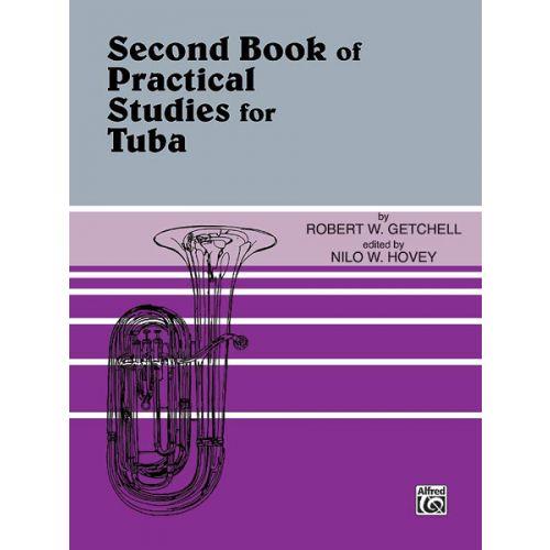 ALFRED PUBLISHING GETCHELL ROBERT - PRACTICAL STUDIES FOR TUBA BOOK 2 - TUBA