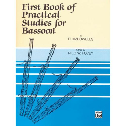 ALFRED PUBLISHING 1ST BOOK OF PRACTICAL STUDIES - BASSOON