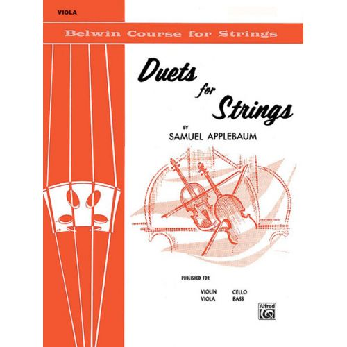 ALFRED PUBLISHING APPLEBAUM SAMUEL - DUETS FOR STRINGS BOOK 1 - VIOLA