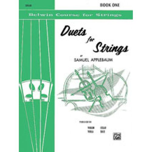 ALFRED PUBLISHING APPLEBAUM S. - DUETS FOR STRINGS CELLO
