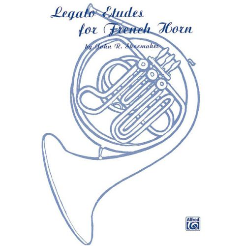 ALFRED PUBLISHING LEGATO ETUDES FOR - FRENCH HORN