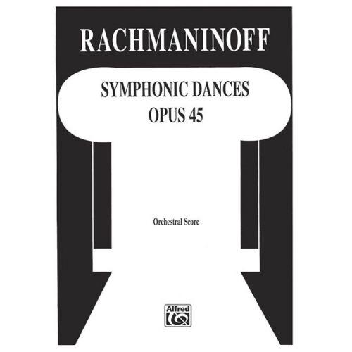 ALFRED PUBLISHING SYMPHONIC DANCES STUDY SCORE - SCORES
