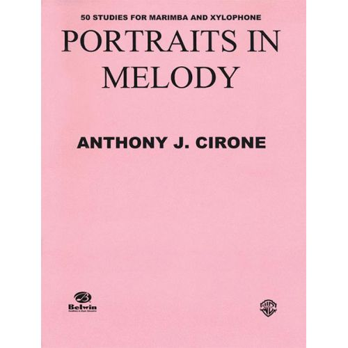 ALFRED PUBLISHING PORTRAITS IN MELODY - DRUMS & PERCUSSION
