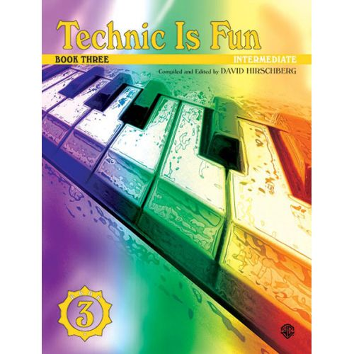 ALFRED PUBLISHING TECHNIC IS FUN BOOK 3 - PIANO