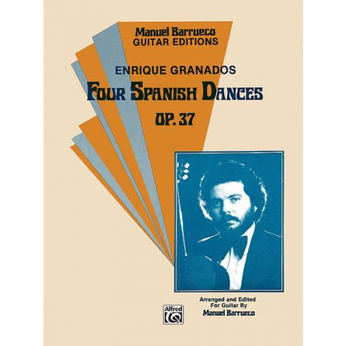 ALFRED PUBLISHING 4 SPANISH DANCES - GUITAR