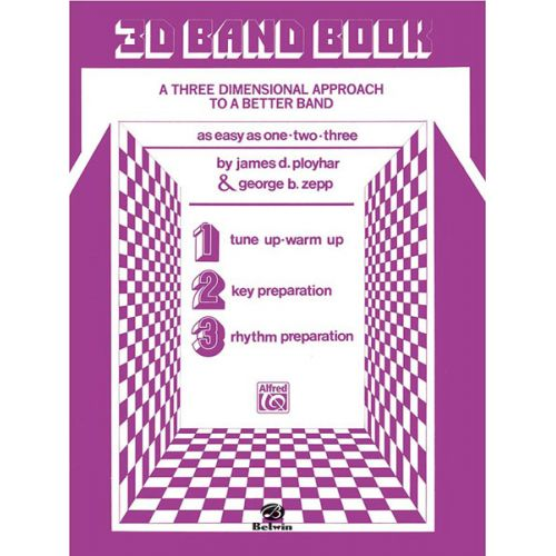ALFRED PUBLISHING 3-D BAND BOOK - SCORE