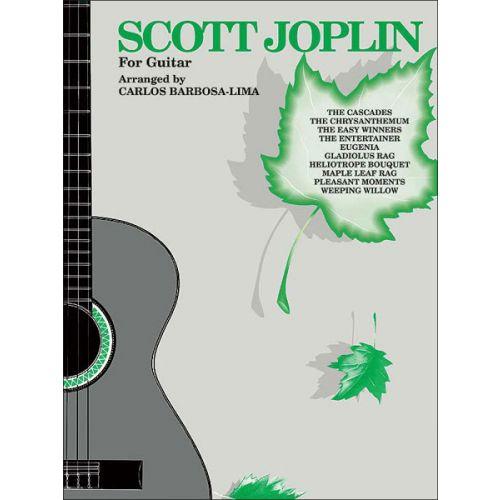 ALFRED PUBLISHING JOPLIN SCOTT - SCOTT JOPLIN FOR GUITAR - GUITAR