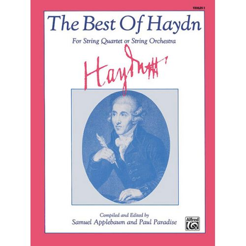 ALFRED PUBLISHING BEST OF HAYDN - VIOLIN 1