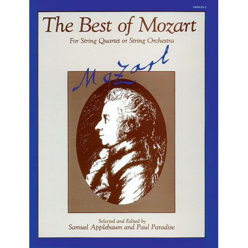 ALFRED PUBLISHING BEST OF MOZART - VIOLIN 1