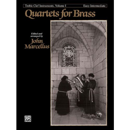 ALFRED PUBLISHING MARCELLUS - QUARTETS FOR BRASS - TREBLE CLEF