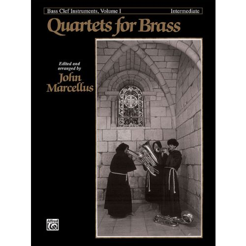 ALFRED PUBLISHING MARCELLUS - QUARTETS FOR BRASS INTERMEDIAT - F INSTRUMENTS