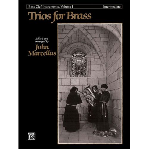 ALFRED PUBLISHING MARCELLUS - TRIOS FOR BRASS VOL 1 INTERMEDIATE - F INSTRUMENTS