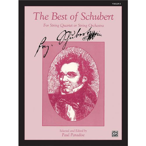 ALFRED PUBLISHING BEST OF SCHUBERT - VIOLIN 1