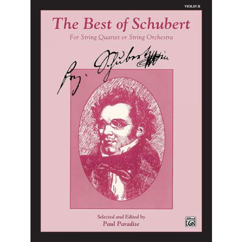 ALFRED PUBLISHING BEST OF SCHUBERT - VIOLIN