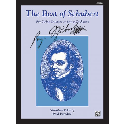 ALFRED PUBLISHING BEST OF SCHUBERT - CELLO