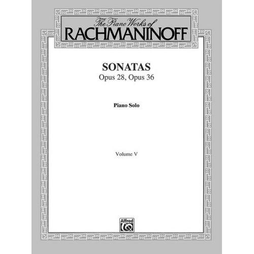 ALFRED PUBLISHING RACHMANINOV SERGEI - SONATAS 5 - PIANO SOLO