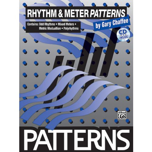 ALFRED PUBLISHING PATTERNS RHYTHM & METER + CD - DRUMS & PERCUSSION