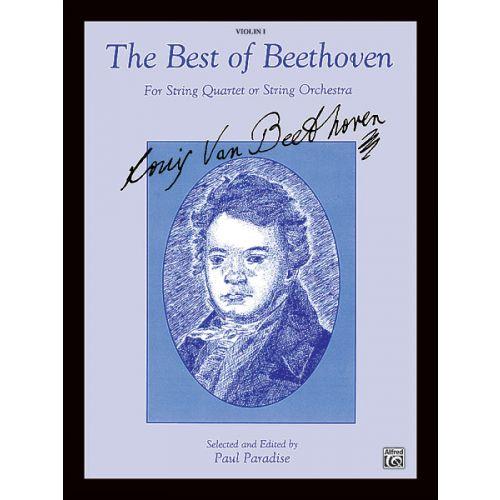 ALFRED PUBLISHING BEETHOVEN LUDWIG VAN - BEST OF - VIOLIN 1