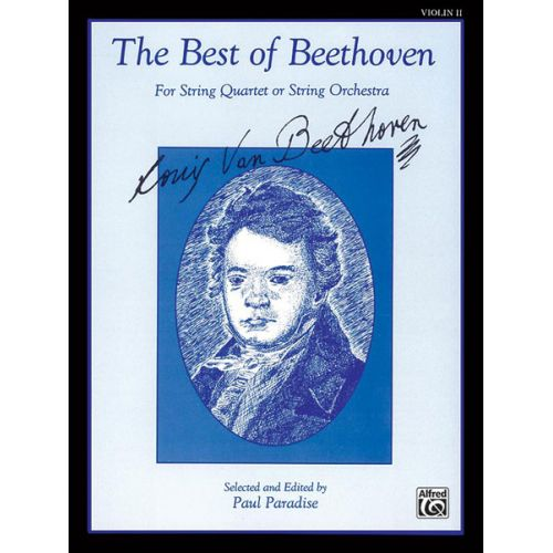 ALFRED PUBLISHING BEETHOVEN LUDWIG VAN - BEST OF - VIOLIN 2