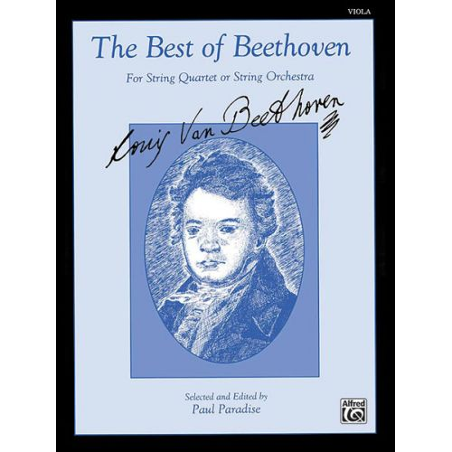 ALFRED PUBLISHING BEETHOVEN LUDWIG VAN - BEST OF - VIOLA