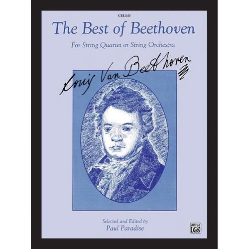 ALFRED PUBLISHING BEST OF BEETHOVEN - CELLO