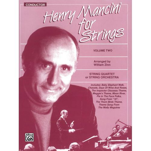 ALFRED PUBLISHING MANCINI HENRY - STRINGS V2 - SCORE