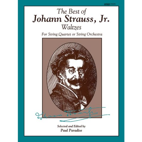 ALFRED PUBLISHING STRAUSS JOHANN - BEST OF STRAUSS WALTZES - SCORE
