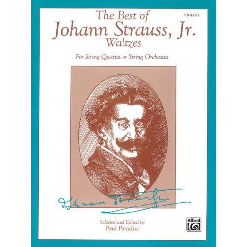 ALFRED PUBLISHING STRAUSS JOHANN - BEST OF STRAUSS WALTZES - FIRST VIOLIN